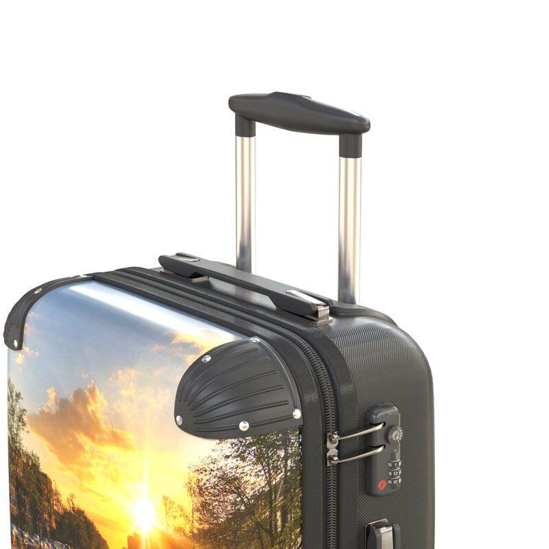 custom printed suitcase