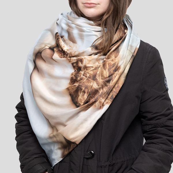 custom photo scarf uk