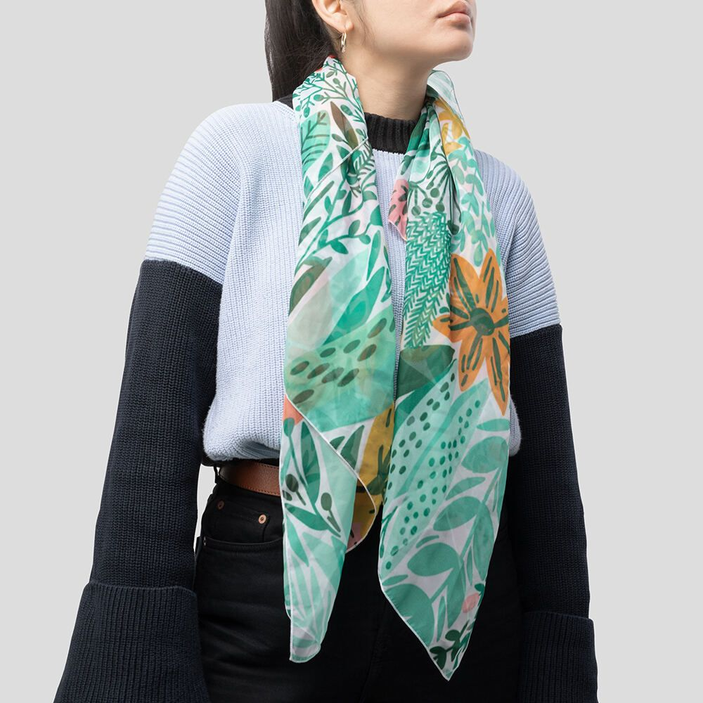 custom ladies scarves