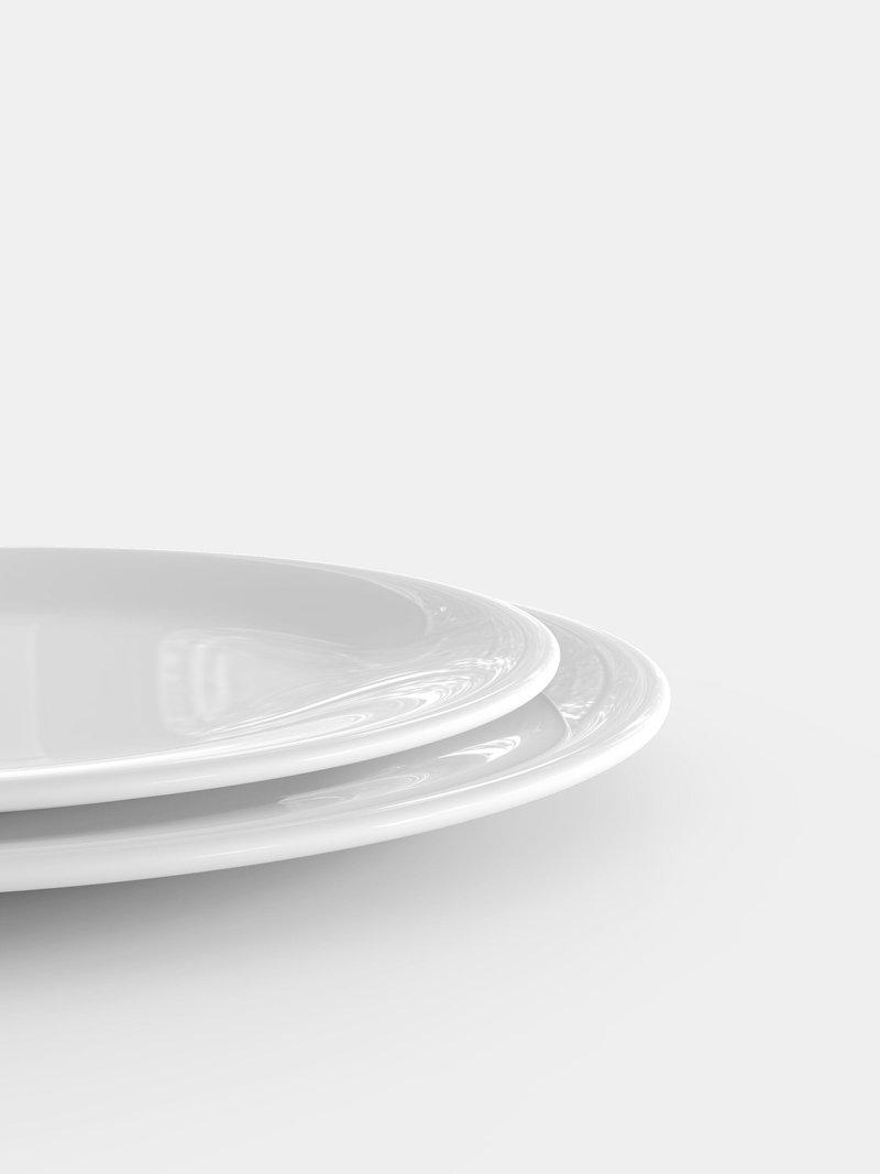 customised plates size comparison