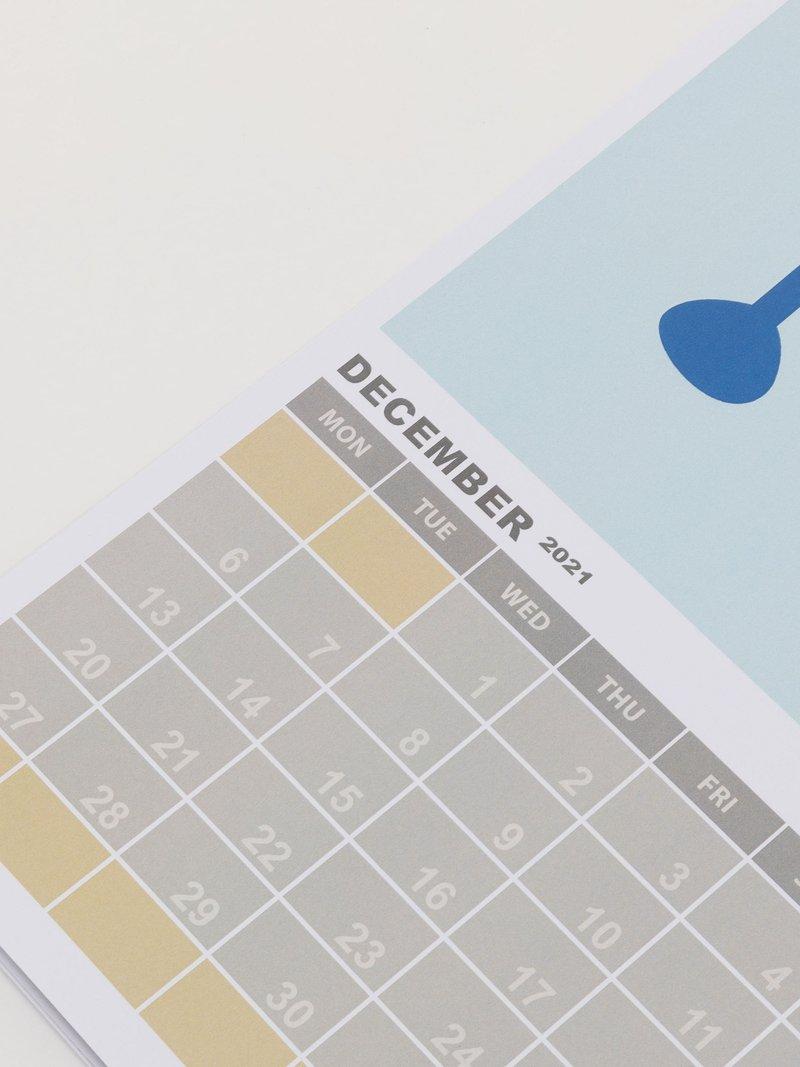 Kalender mit eigenen Muster bedrucken