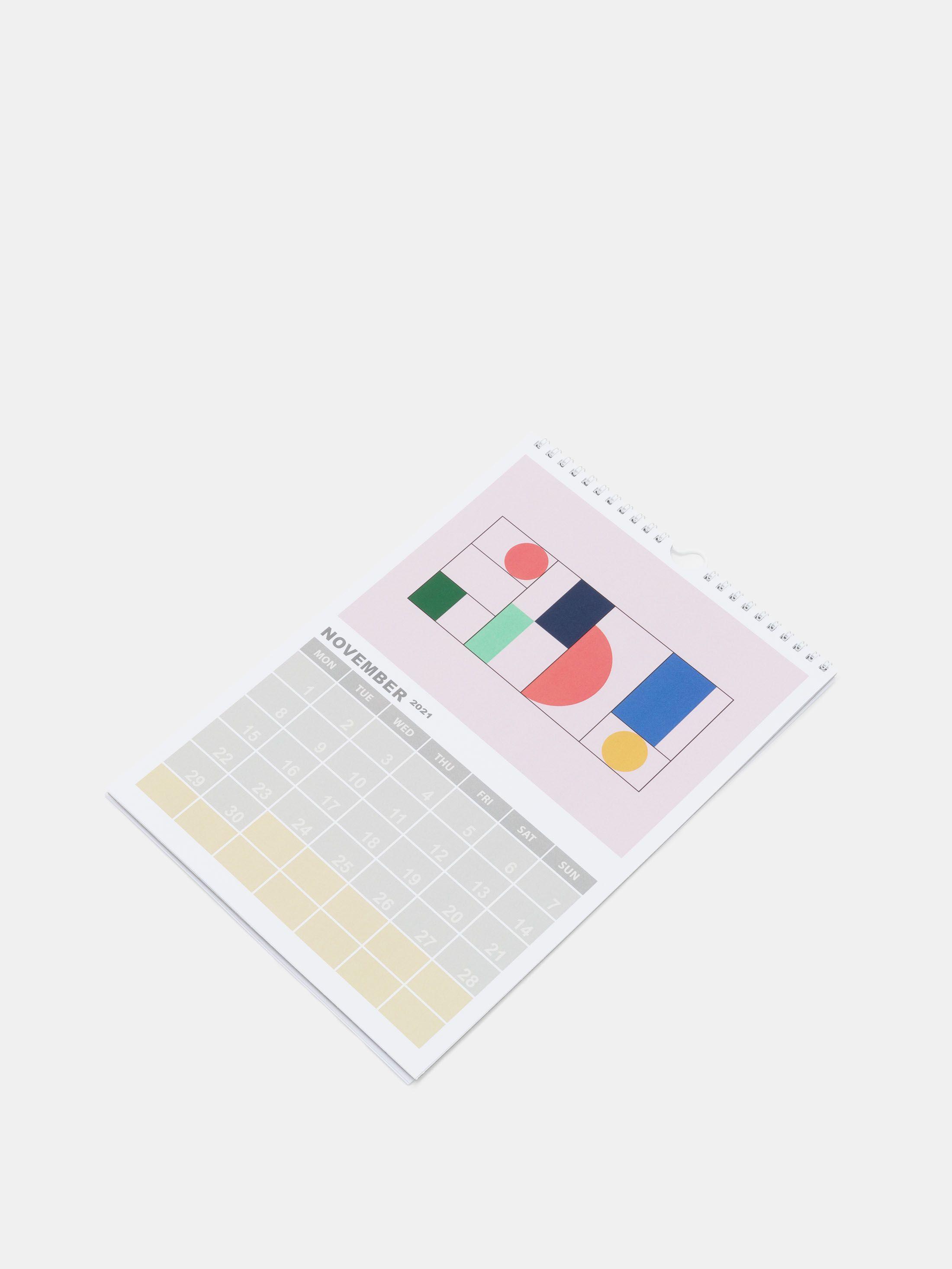 page calendrier personnalisé