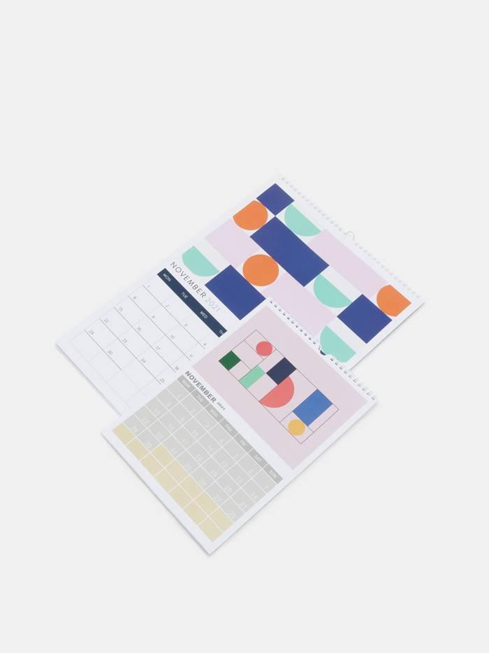 カレンダーデザイン 印刷