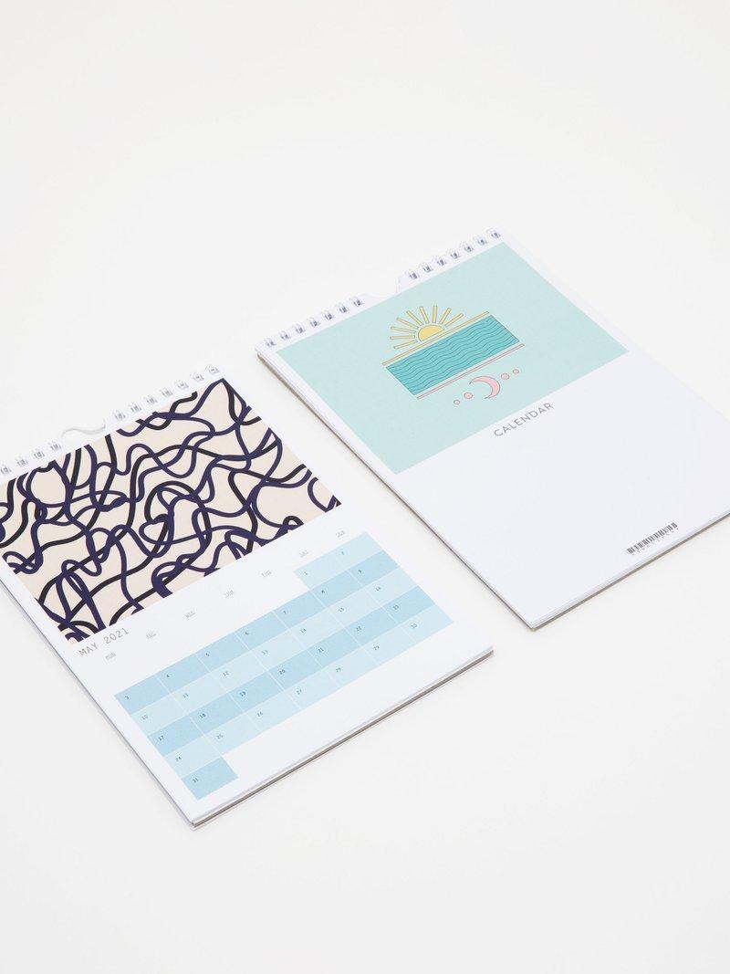 printed calendar 2021
