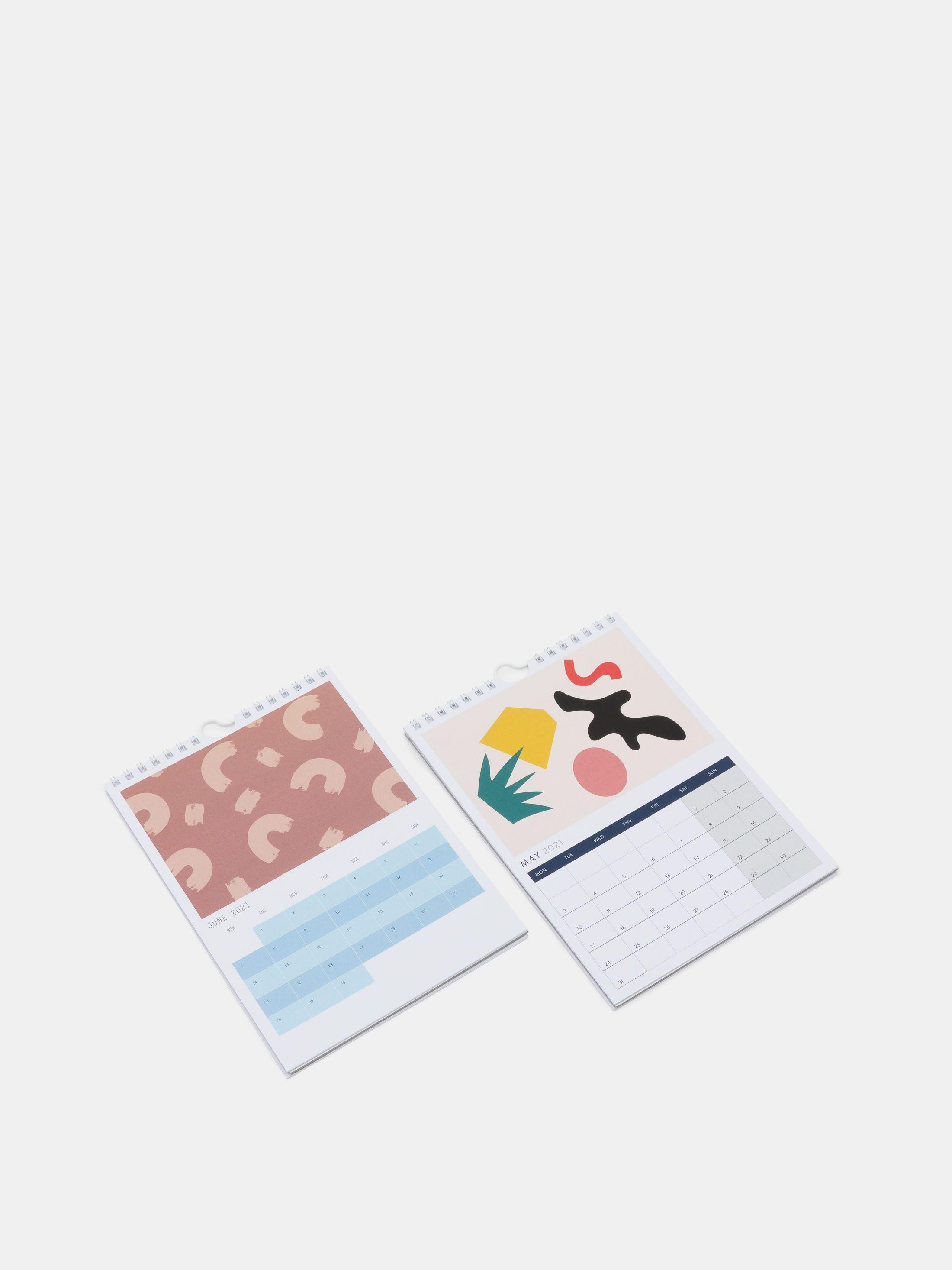 design your own calendar 2021 UK