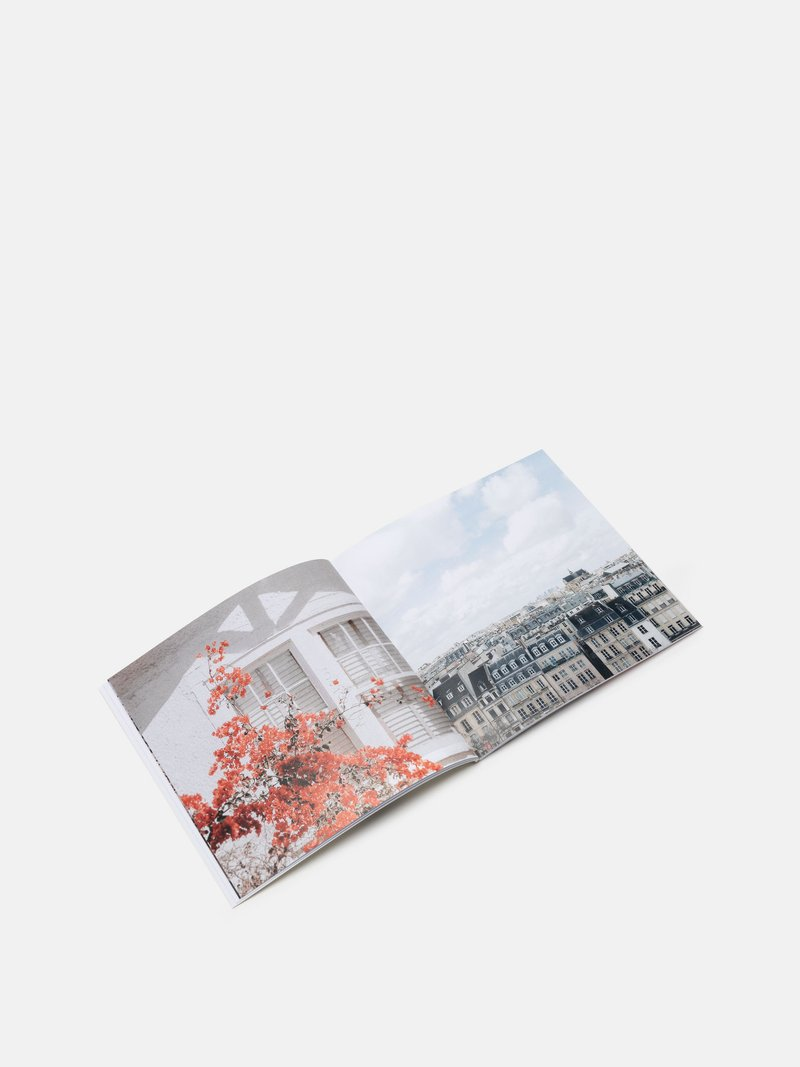 photo book printing close up
