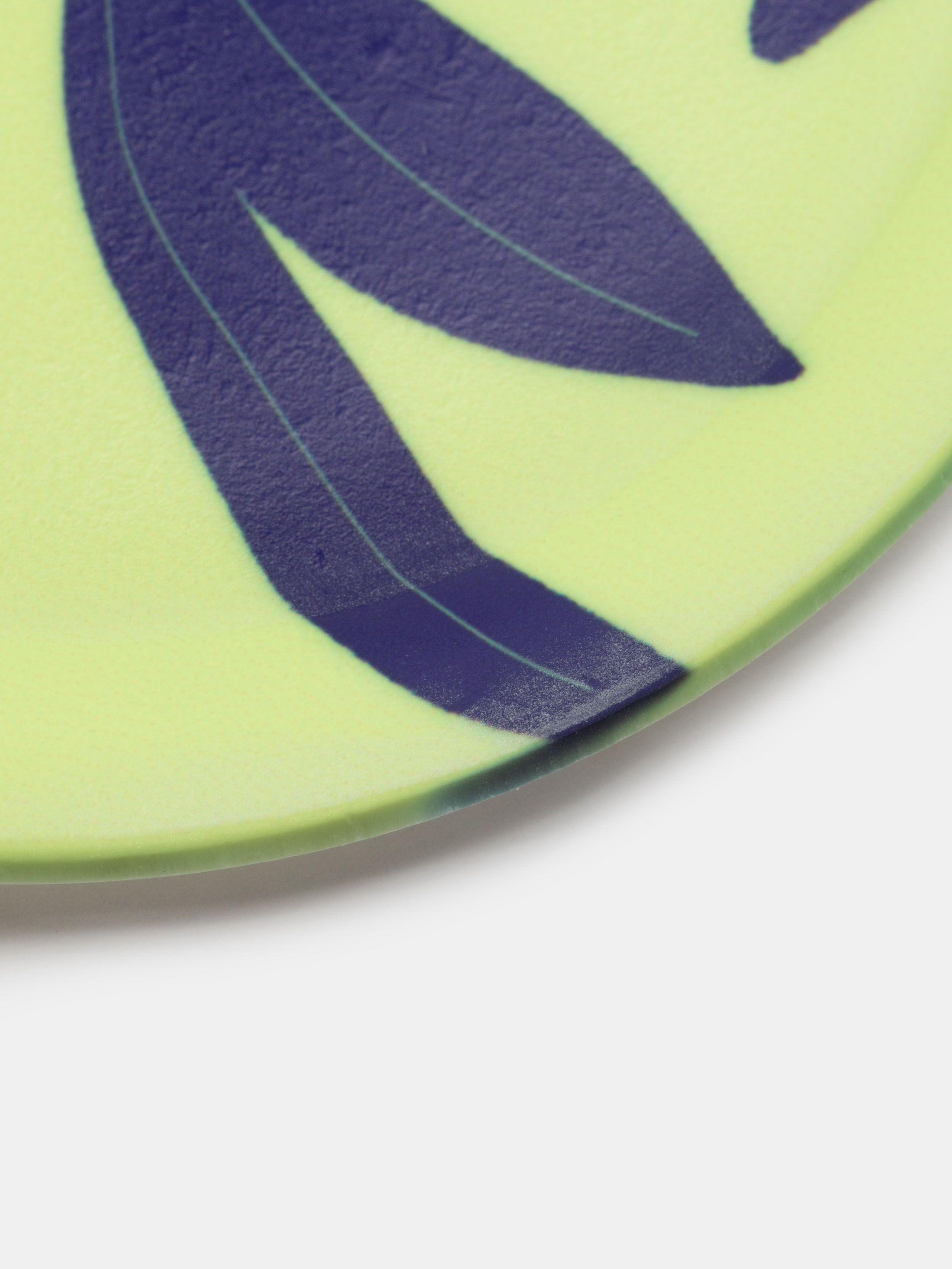Petit plateau rond avec design et logo