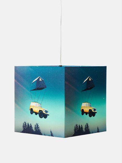 eckiger lampenschirm