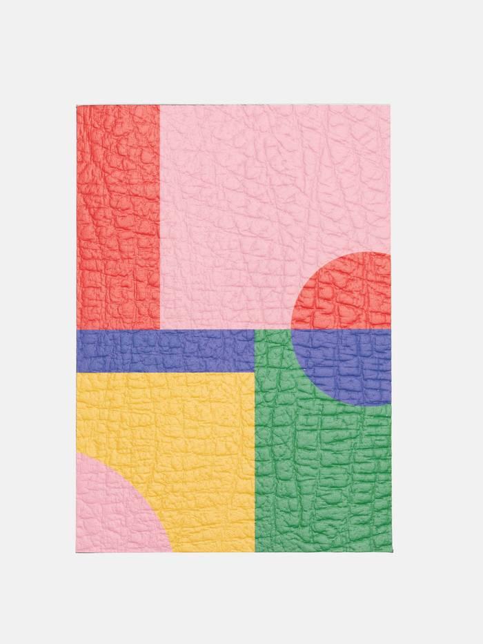 leather sample print