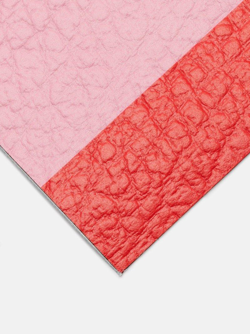 Echantillon de cuir de vachette imprimé