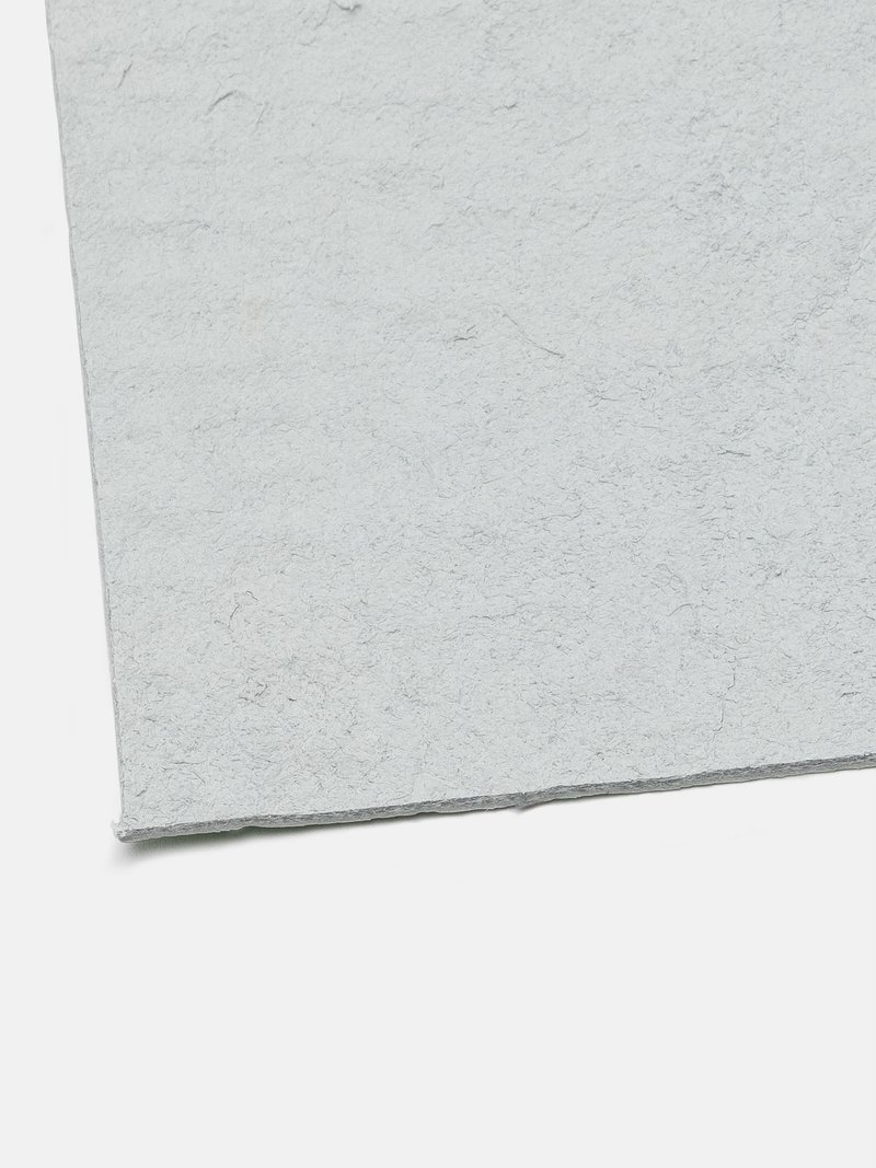 Echantillon de la planche de cuir recyclé imprimé
