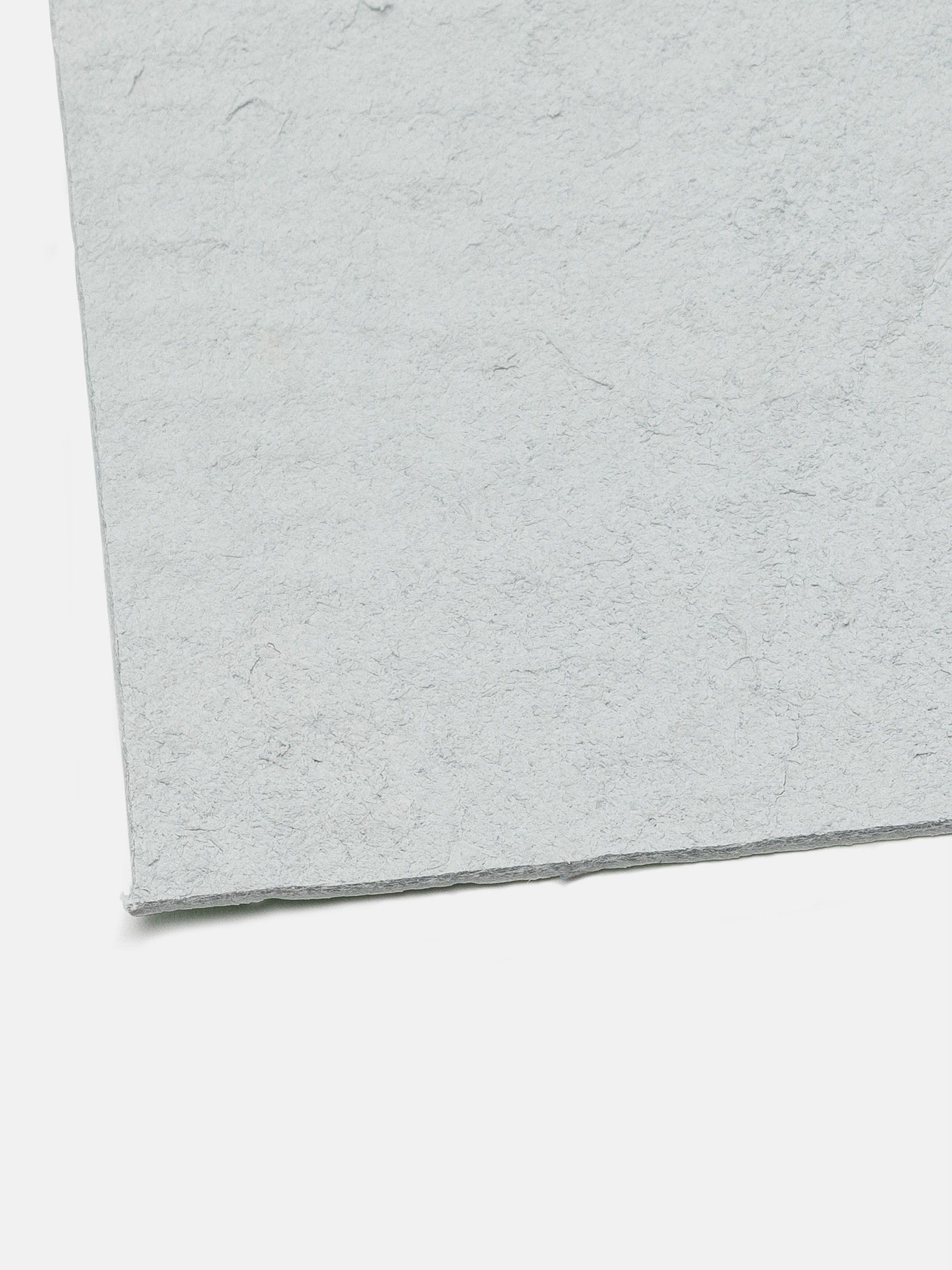 muestra impresa en planchas de cuero reciclado