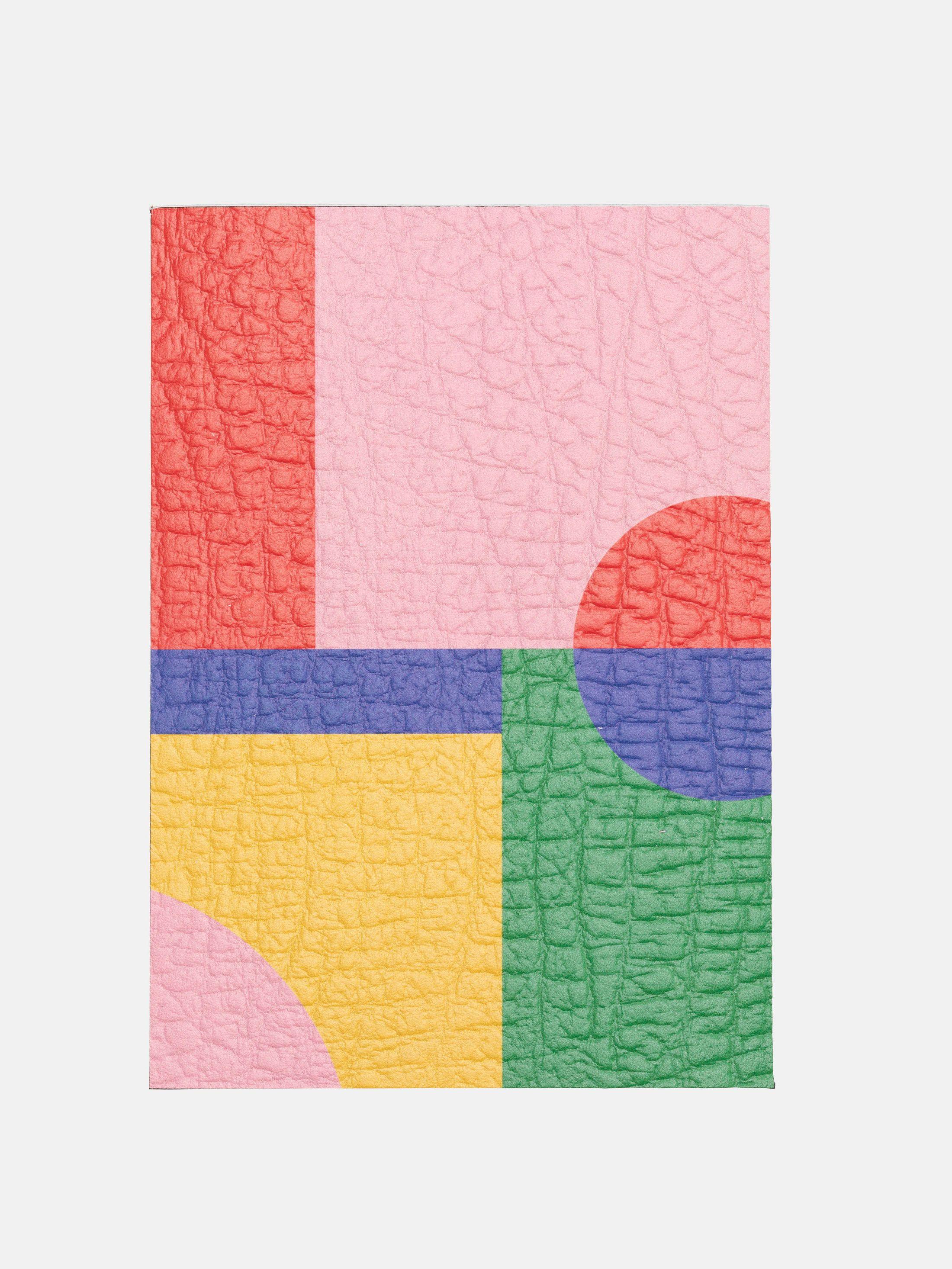 smooth nappa printed leather samples UK