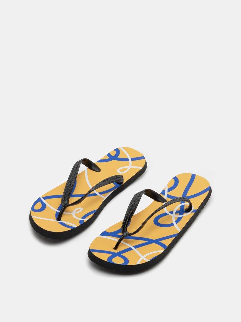 Flip-flop med eget mönster