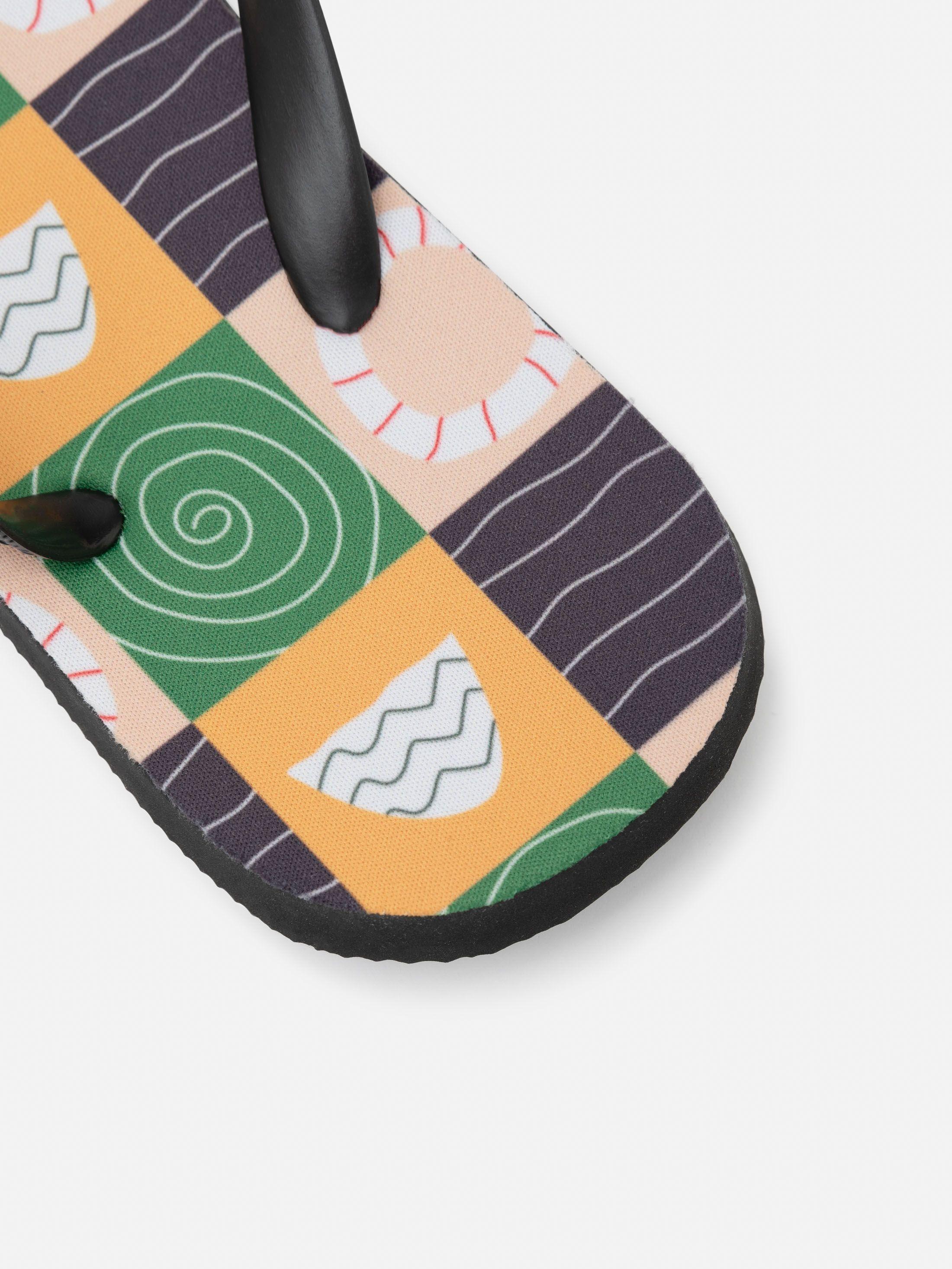Design your own kids printed flip flops