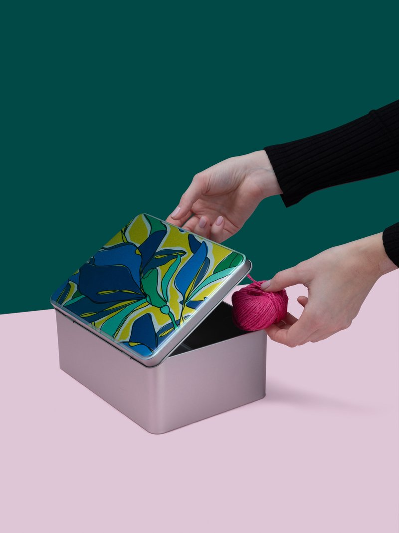custom sewing box