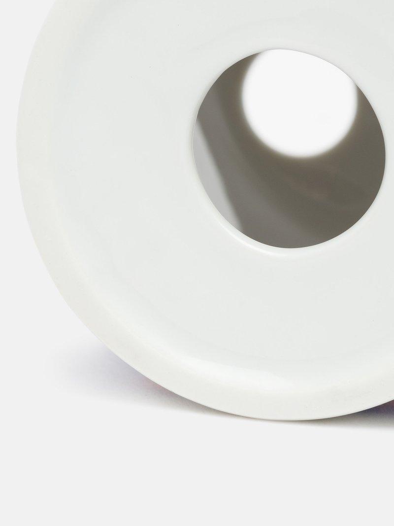 make your own toothbrush holder bottom hole