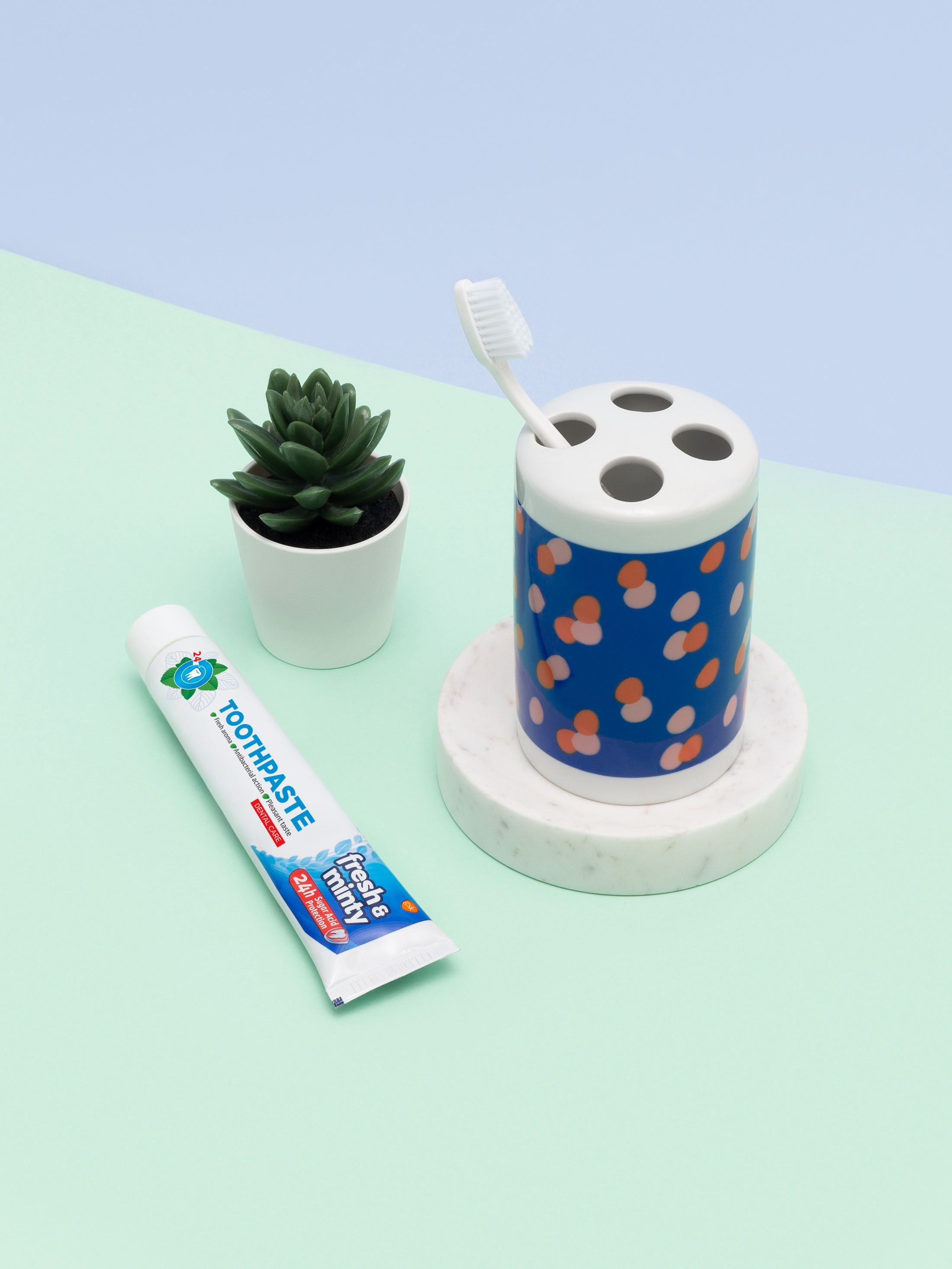 unieke tandenborstelhouder