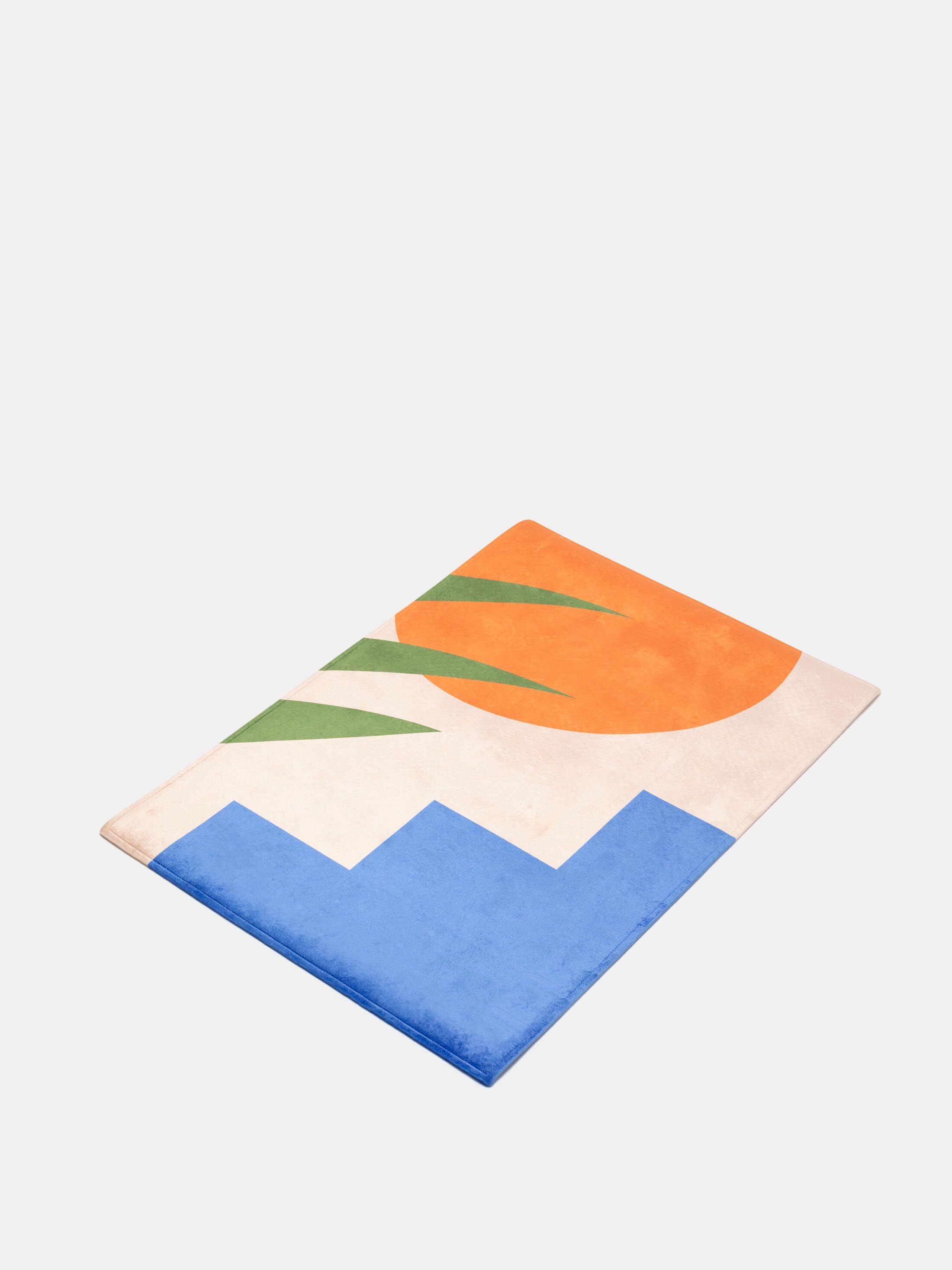 ラグマット デザイン印刷
