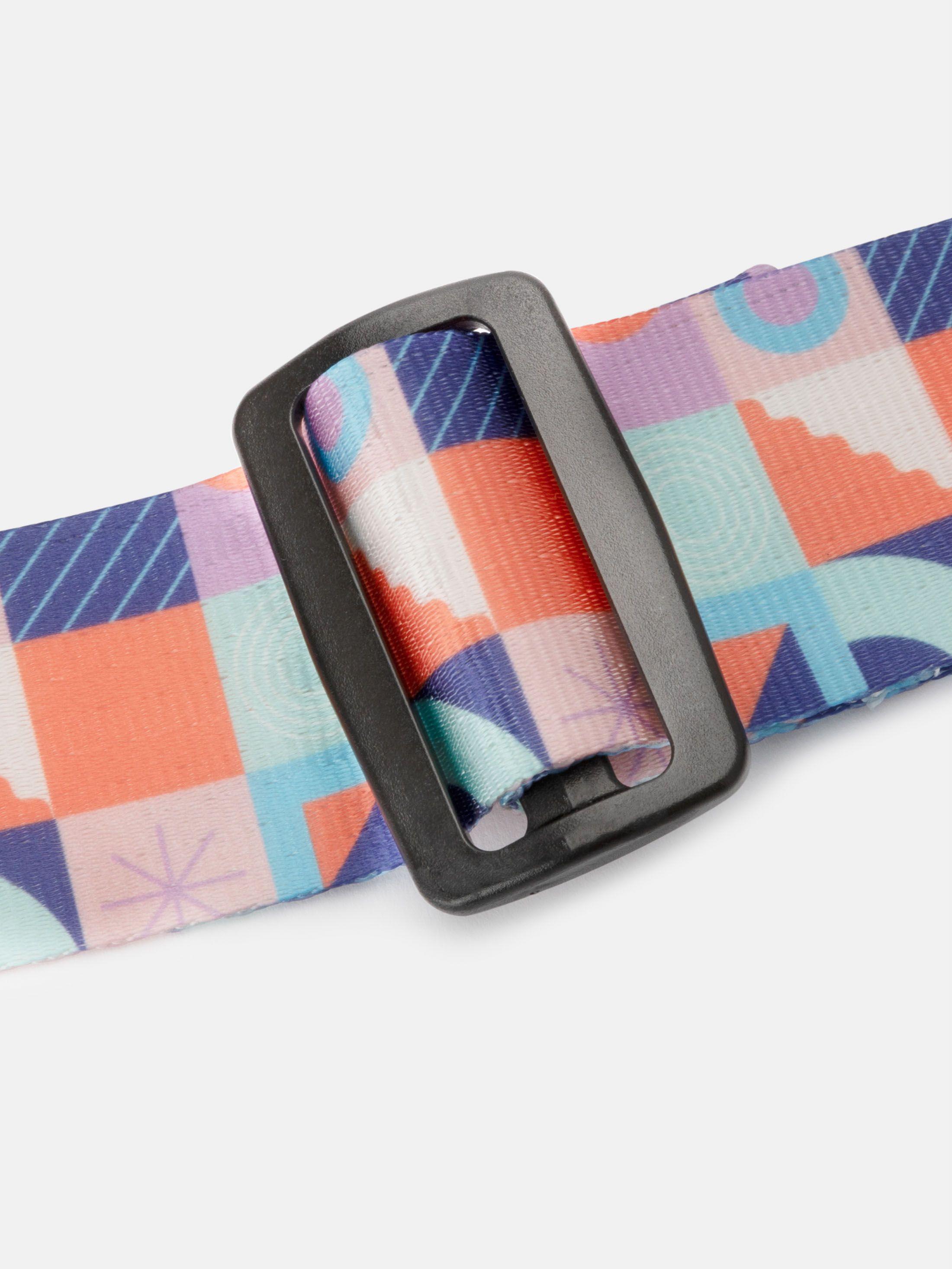 suitcase straps webbing detail