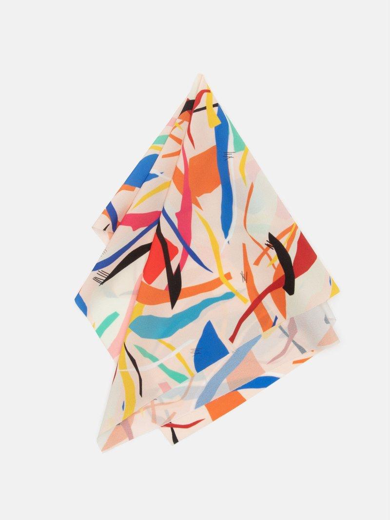 personalised silk crepe de chine