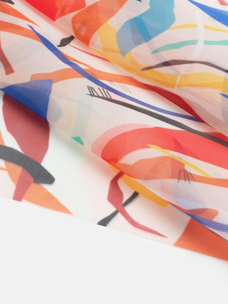 Tessuto personalizzato misto seta-lana