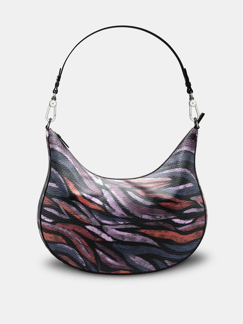 custom hobo bag curved uk
