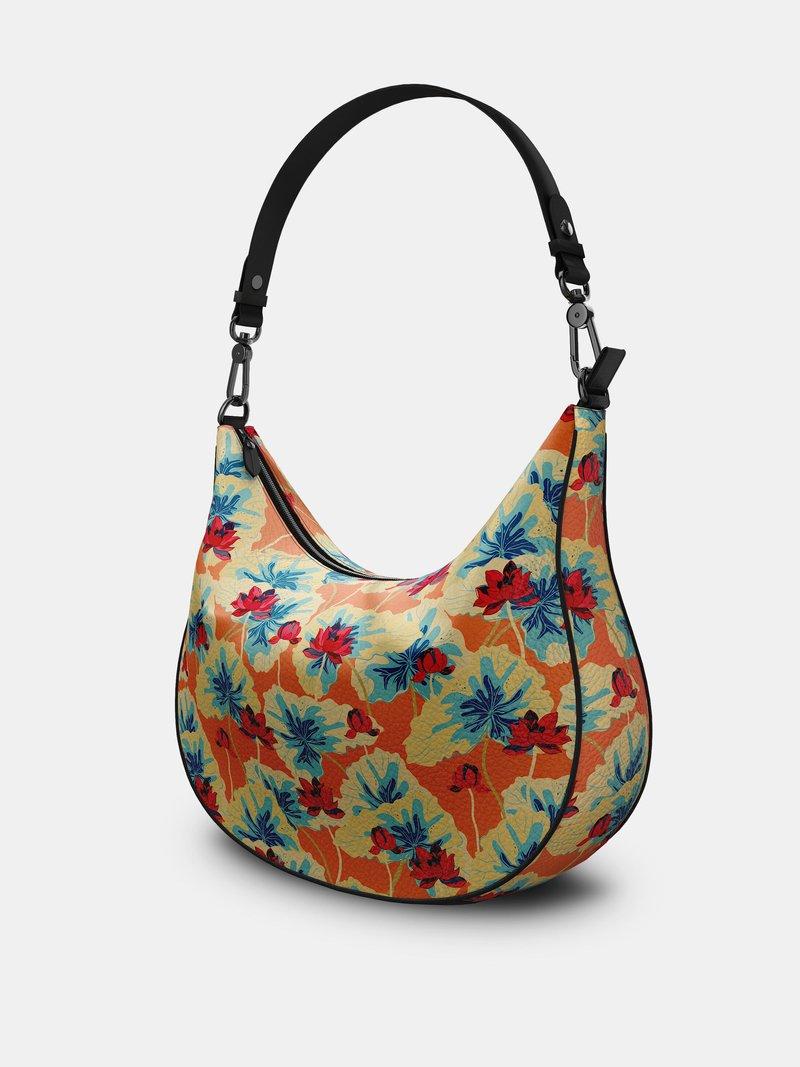 sac porté épaule imprimé