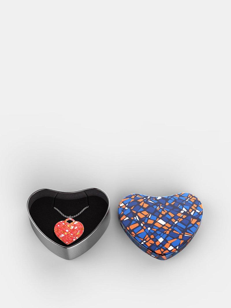 custom heart necklace