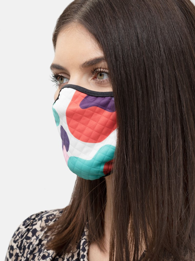 egendesignade ansiktsmasker med tryck
