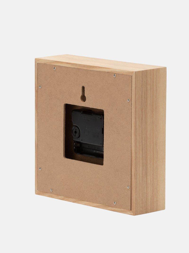 square clock battery box