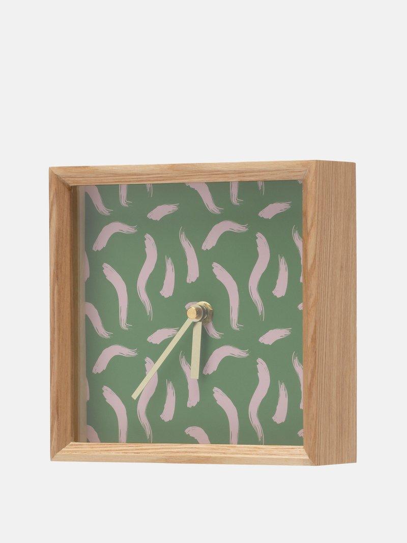 custom wood clocks