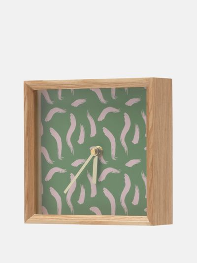 personalised table clock
