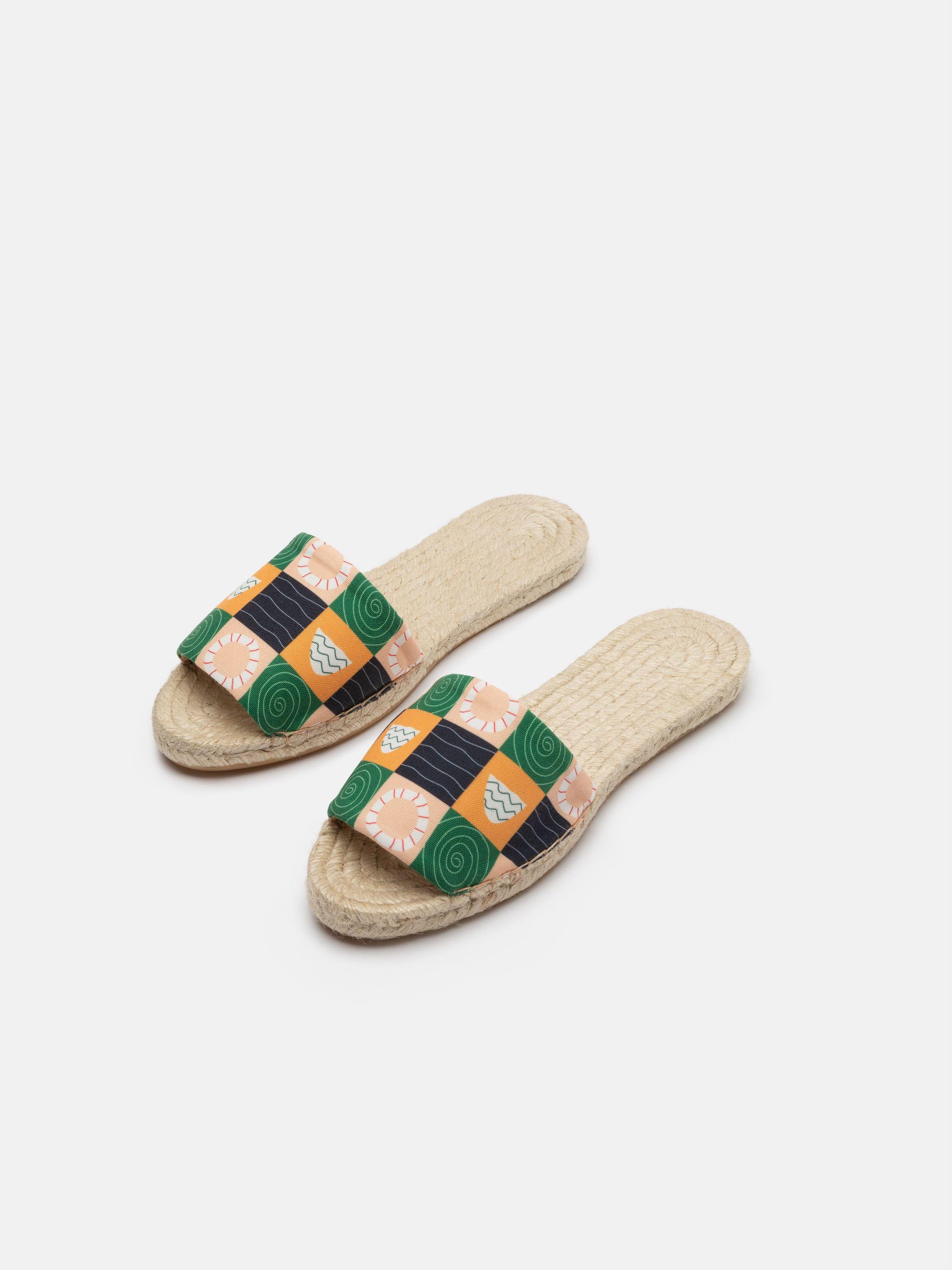sandalen espadrilles bedrucken lassen