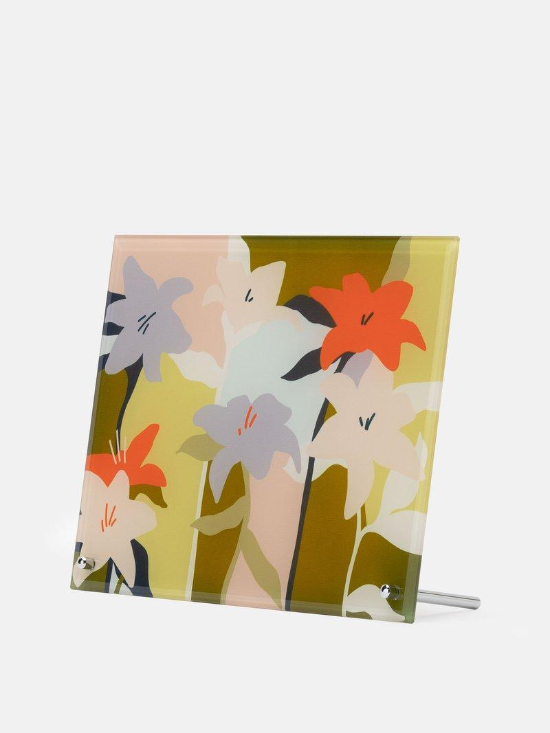 Print on glass using your original artwork or designs
