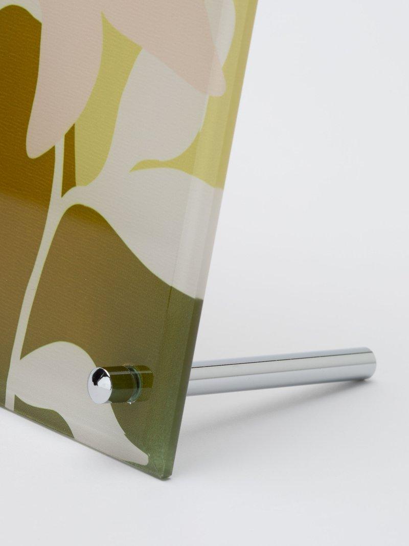 vetro con stampa personalizzata