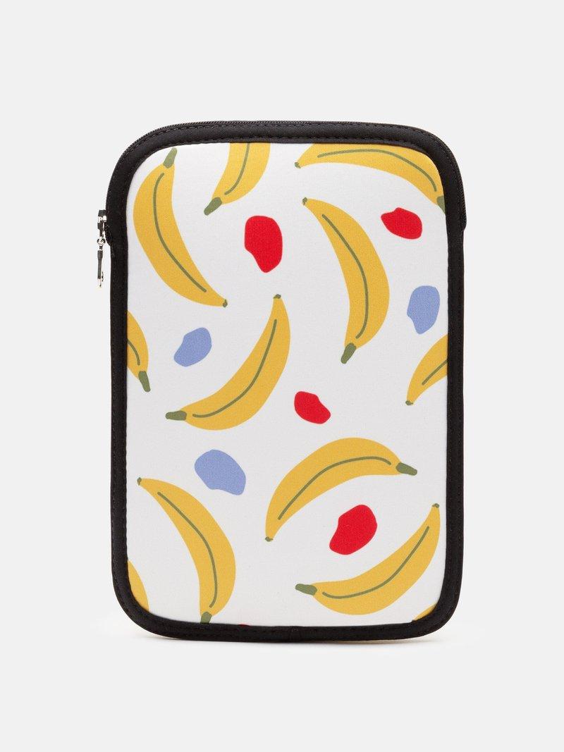 Détail de l'impression sur housse de protection pour iPad mini