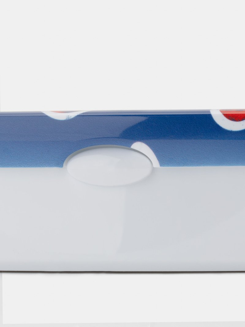プリント ランチボックス 取り外し可能な蓋付き