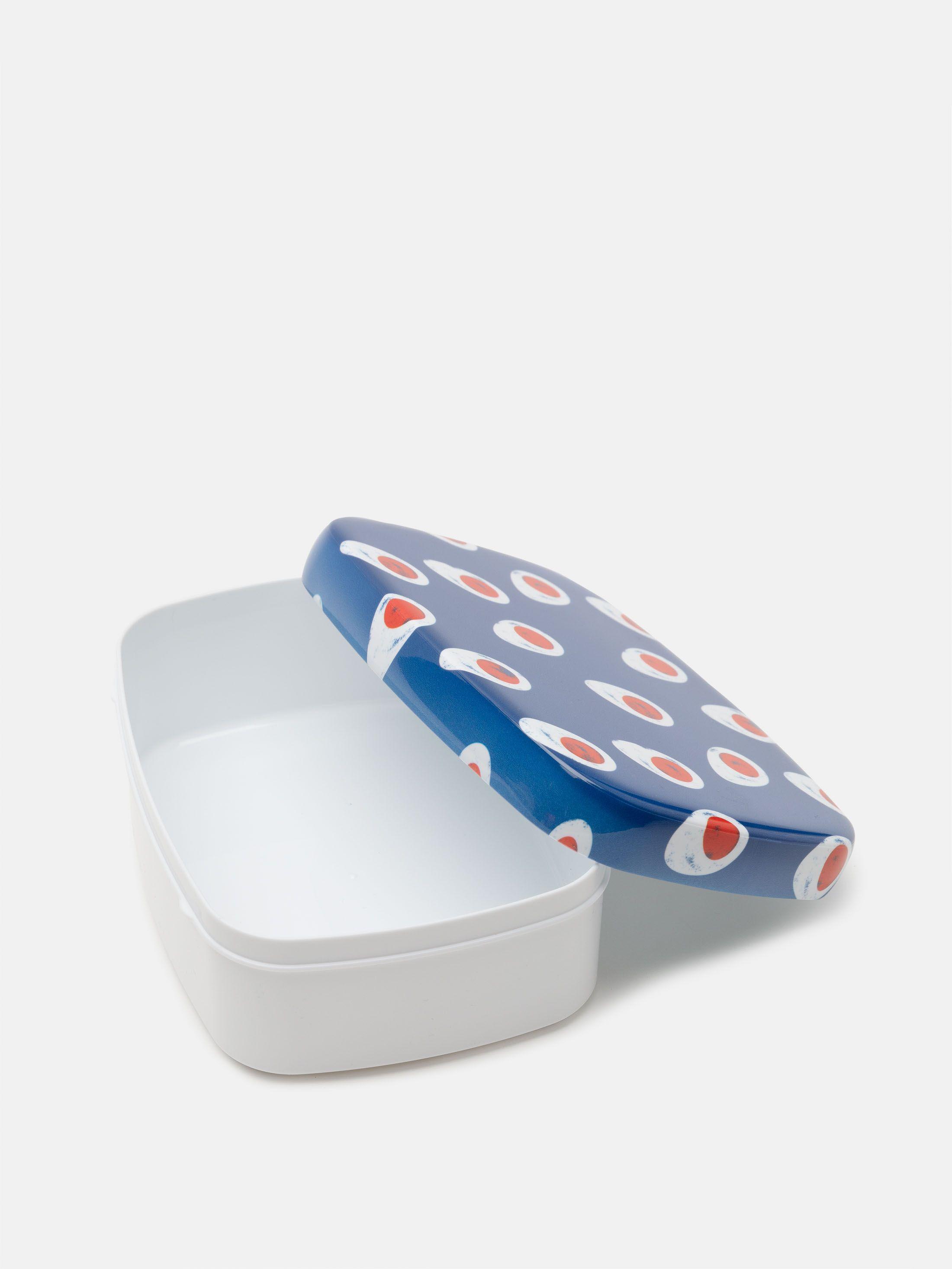 Détail de l'impression sur lunch box