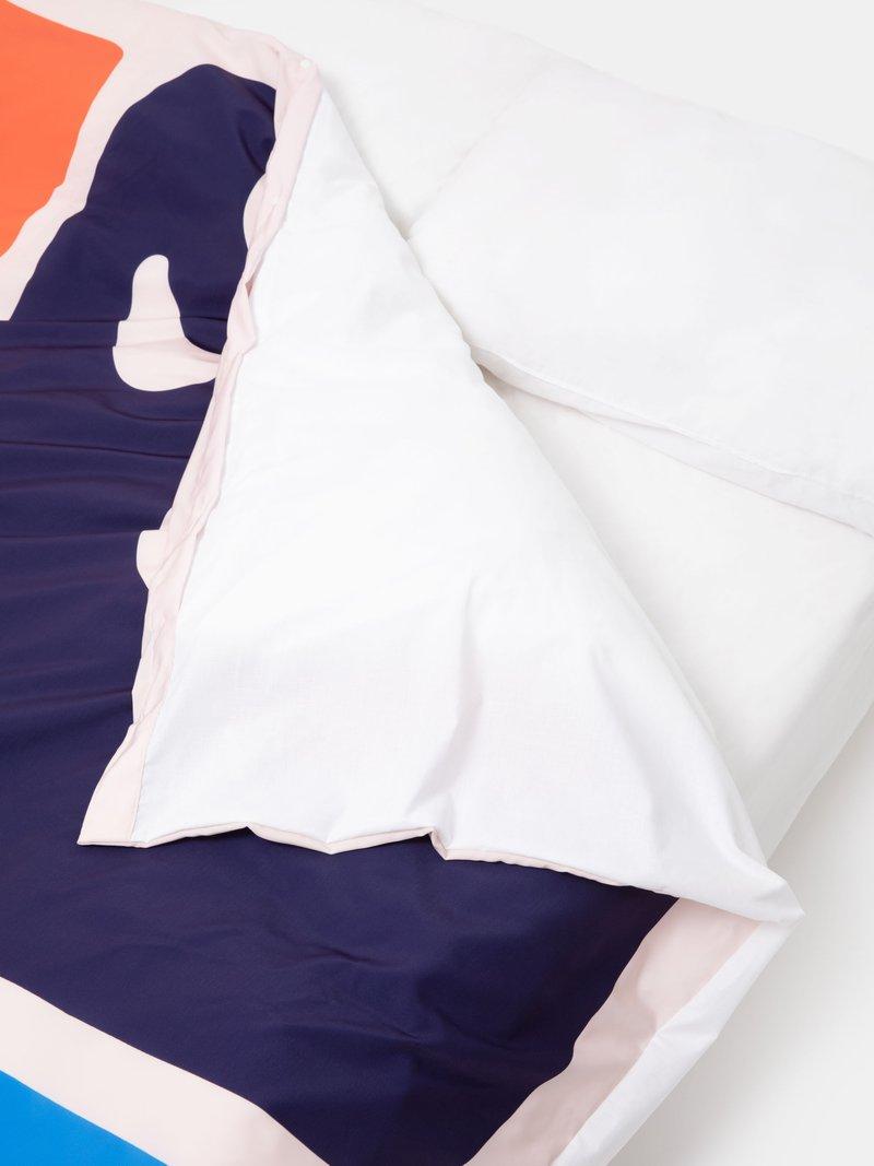 drape of custom duvet covers