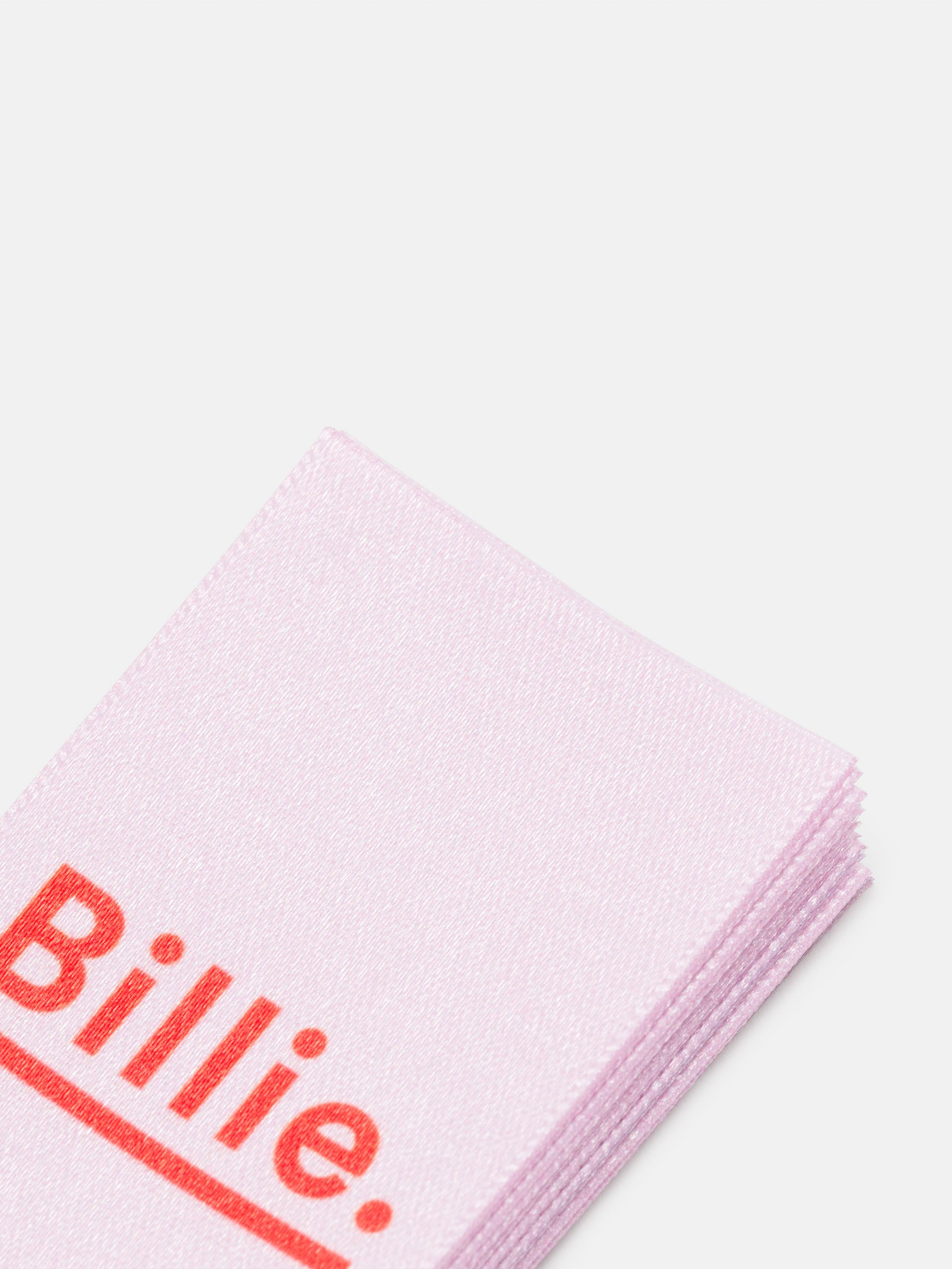 Etichette di tessuto personalizzate