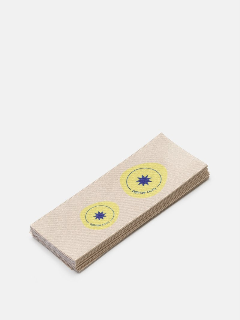 Fabric Labels Flat  labels clothing uk