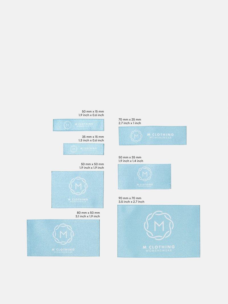 custom fabric clothing labels