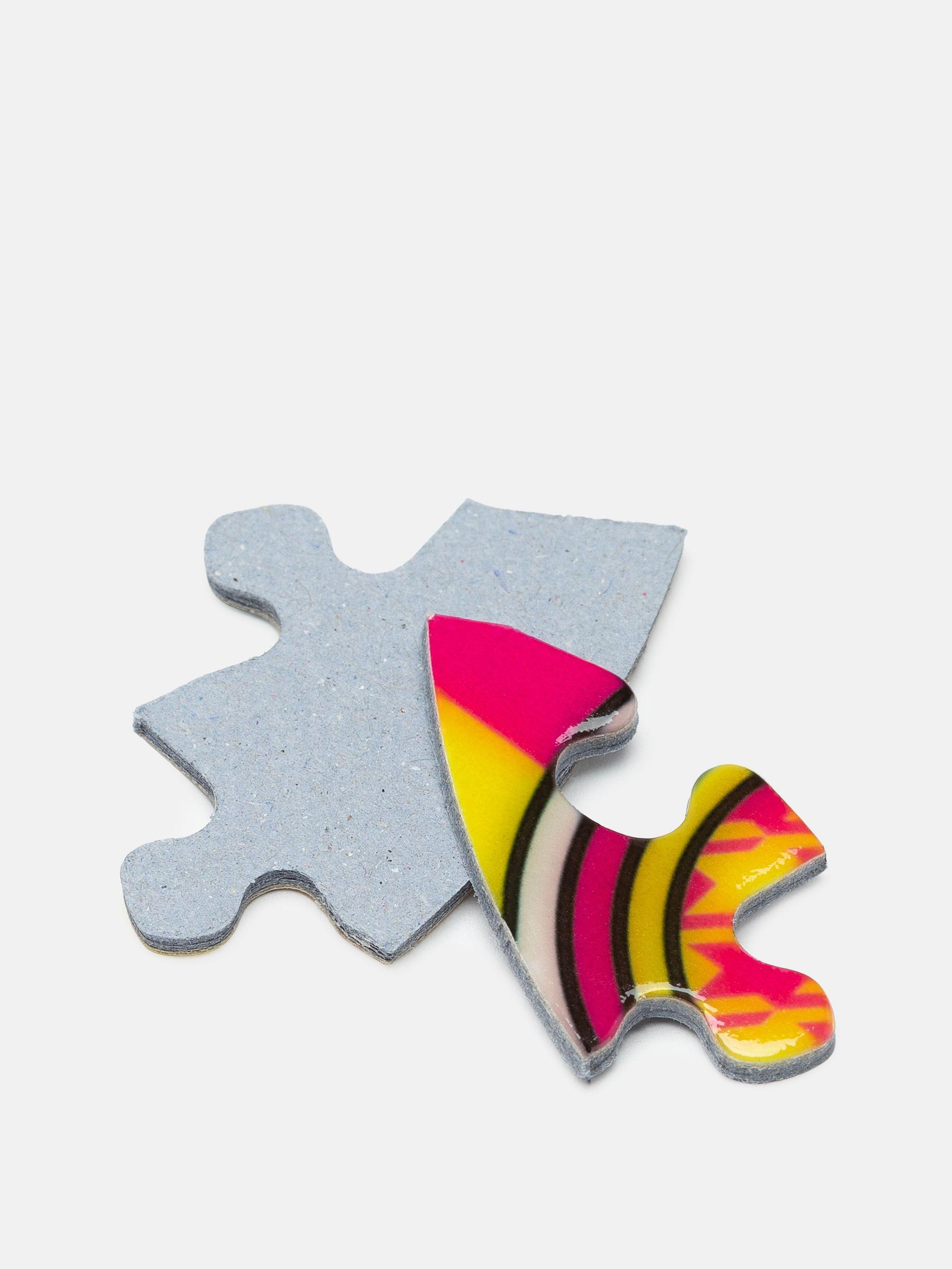 Herz Puzzle bedrucken