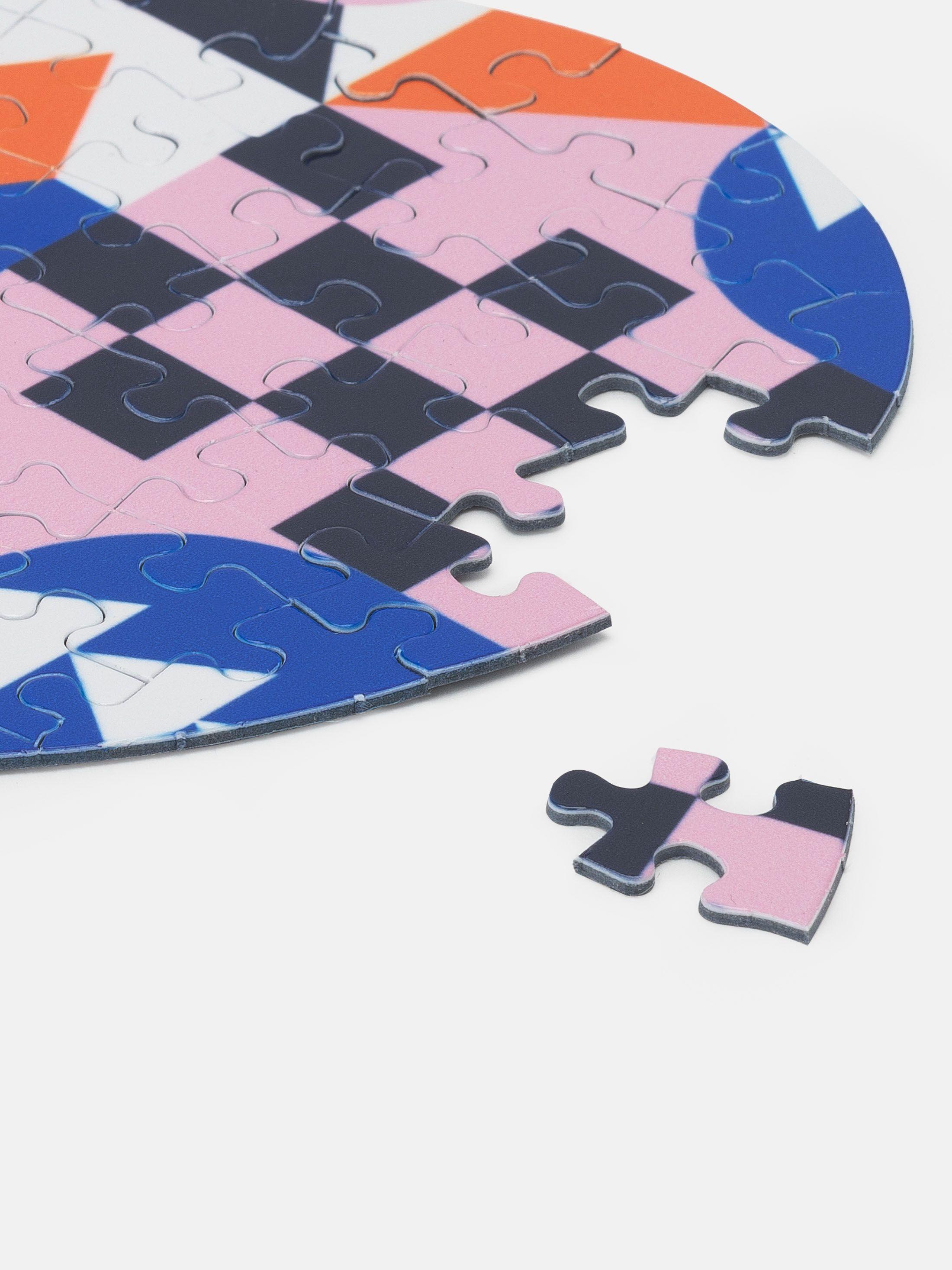 Card jigsaw puzzle design