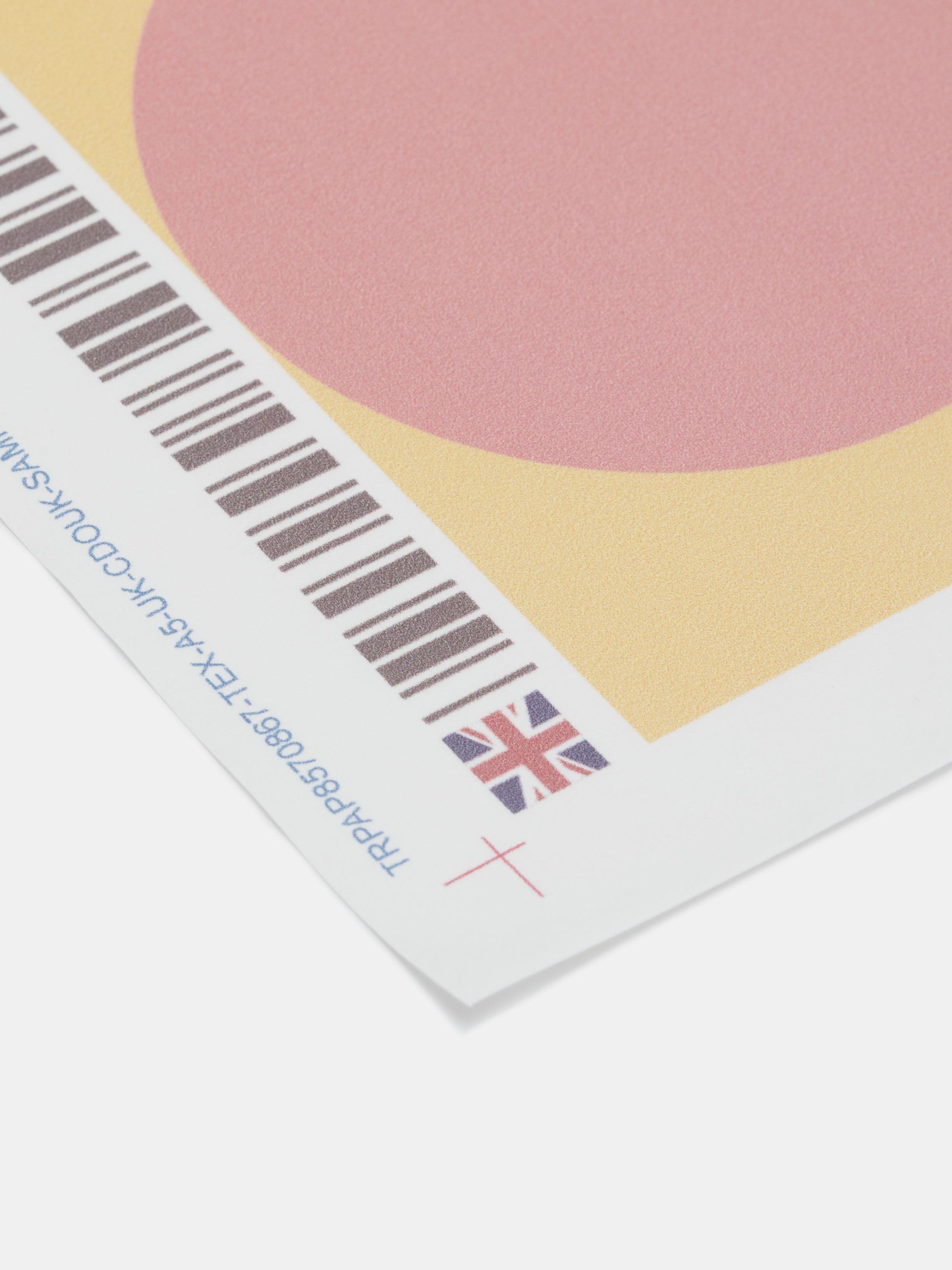 Textilpapper med eget tryck