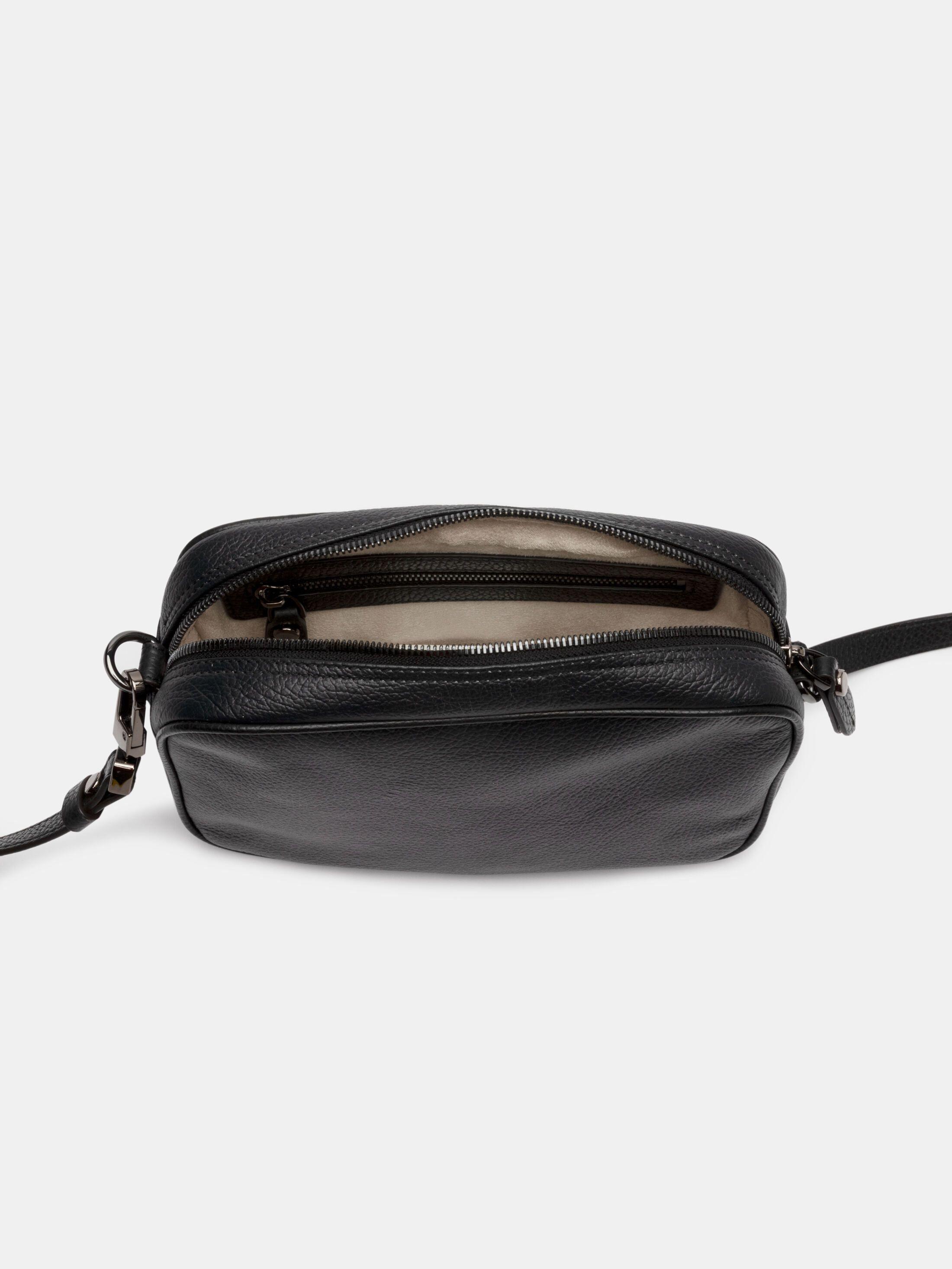 custom camera bag inner lining detail