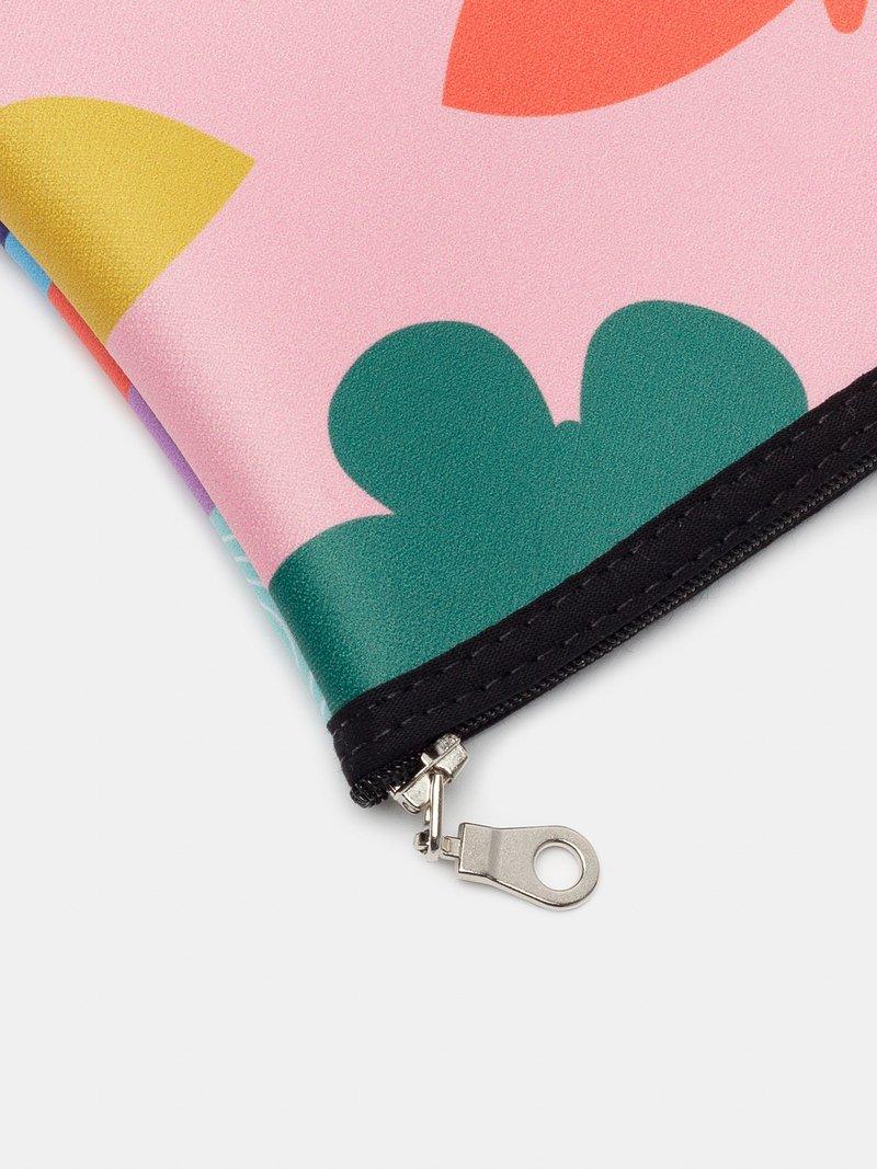custom zip top pouch