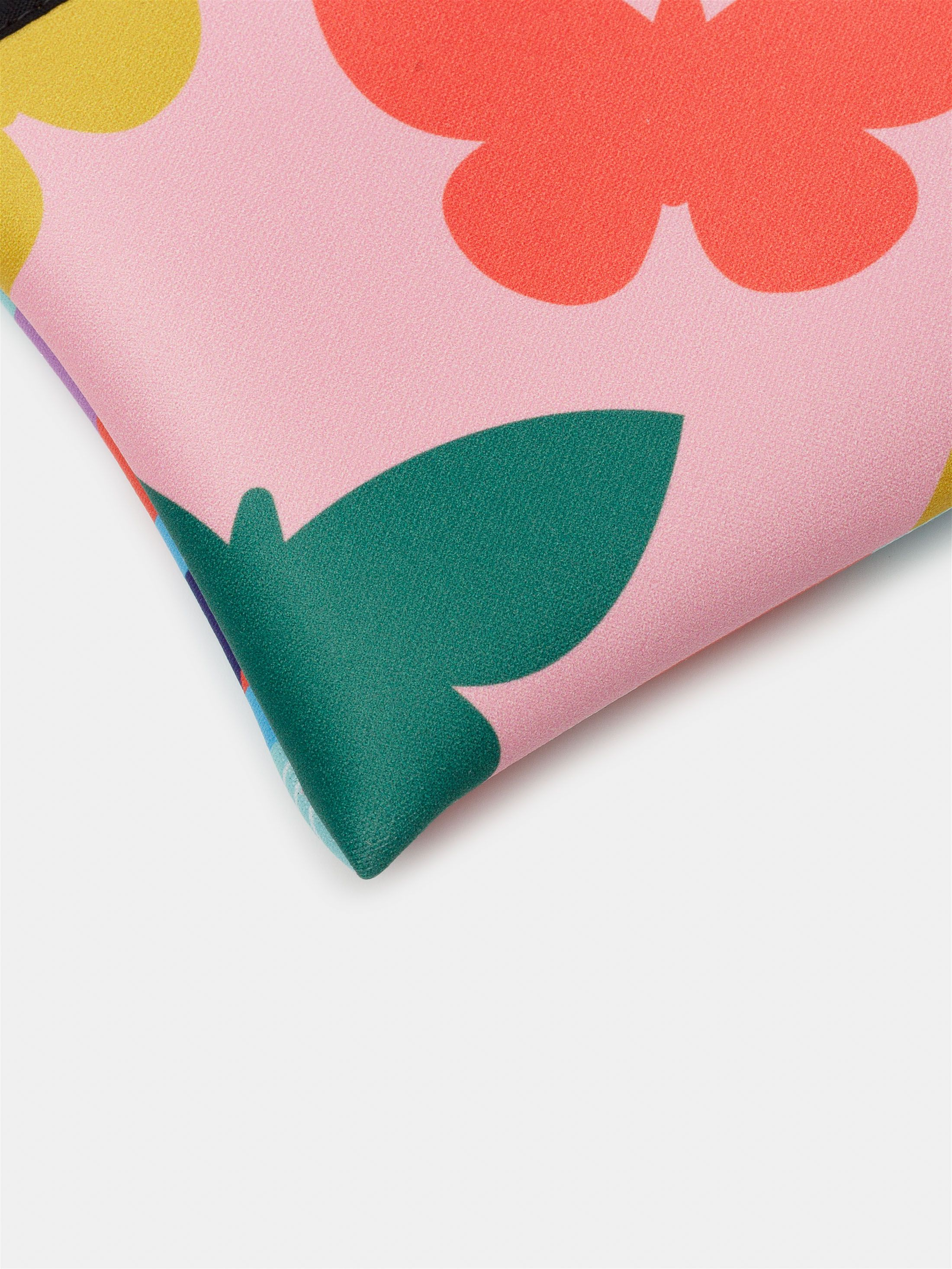 pochette zippée imprimée