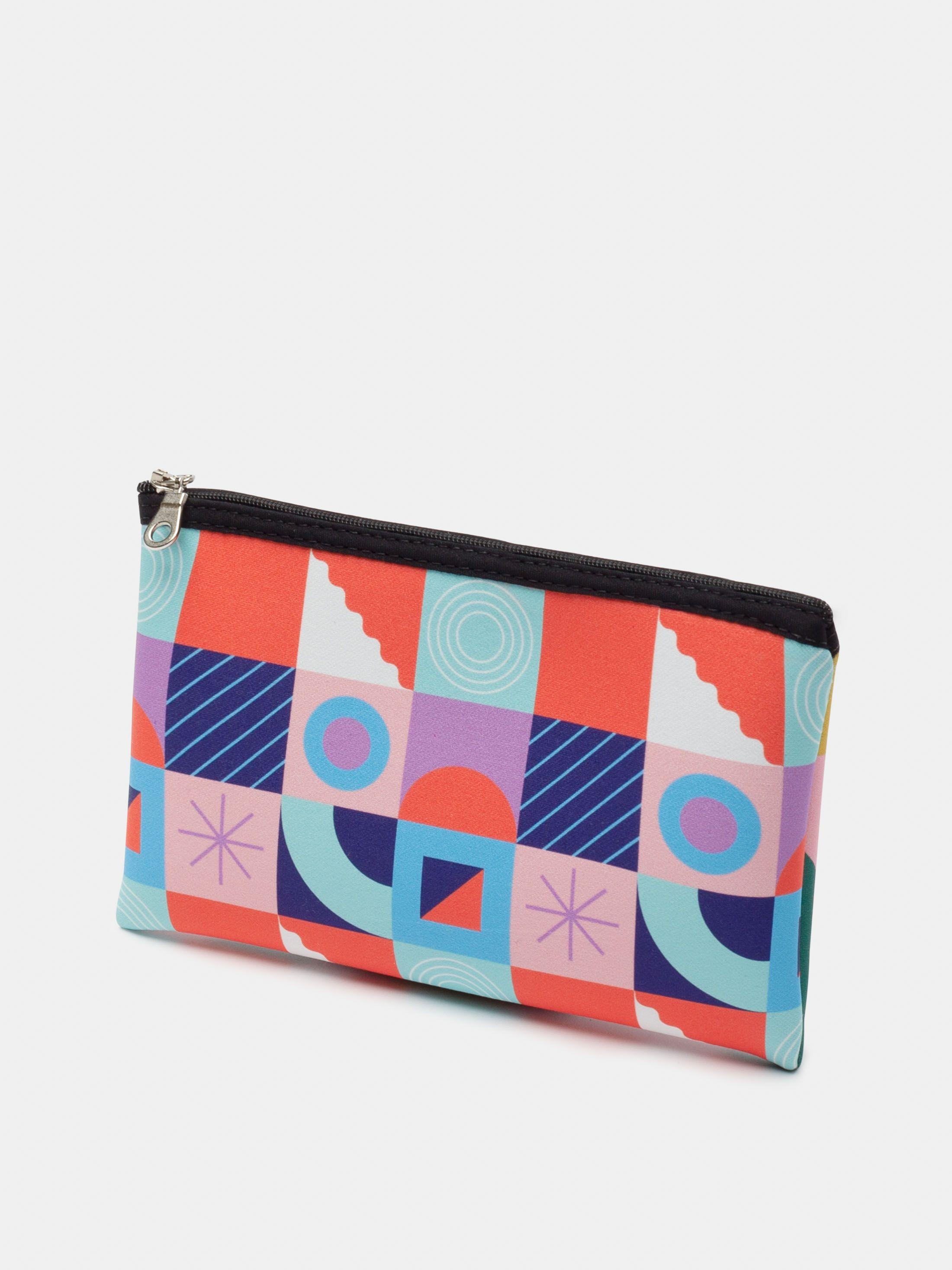 neoprene custom zipper pouch